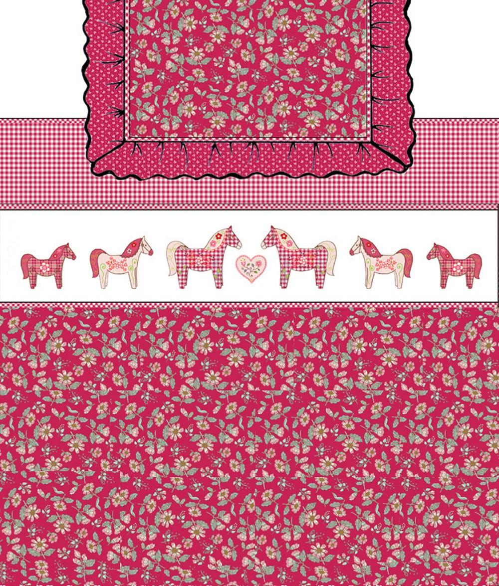 Lief dekbedovertrek Paardjes voor kleine meisjes   Donsdekenovertrek   Room Seven
