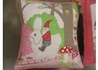 Kussensloop Kabouter en het konijn