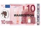Waardebon 10 €