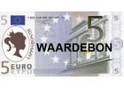 Waardebon 5 €