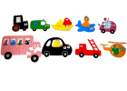 Barbapapa puzzel - Transport Barba