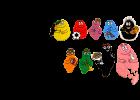 Barbapapa puzzel - Barbapapa Family - 52 stuks