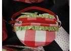 Tasje Appel - handtasje in de vorm van een appel